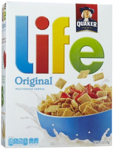 Life Original Breakfast Cereal - 13oz - Quaker Oats von Quaker