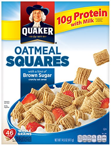 Oatmeal Squares Brown Sugar Breakfast Cereal - 14.5oz - Quaker Oats von Quaker
