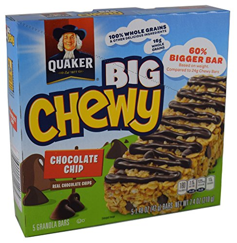 Quaker Big Chewy Chocolate Chip Granola Bars - 5ct von Quaker
