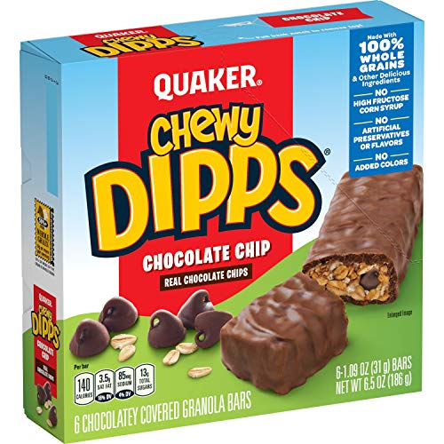 Quaker Chewy Dipps Chocolate Chip Granola Bars - 6ct von Quaker