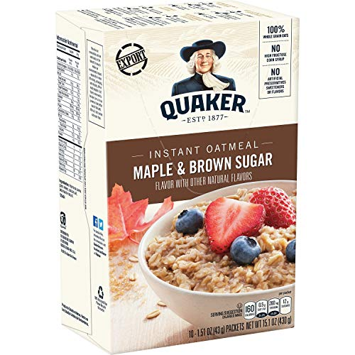Quaker Instant Brown Sugar oat von Quaker