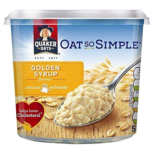 Quaker Oat So Simple Golden Syrup Porridge Pot 57g von Quaker