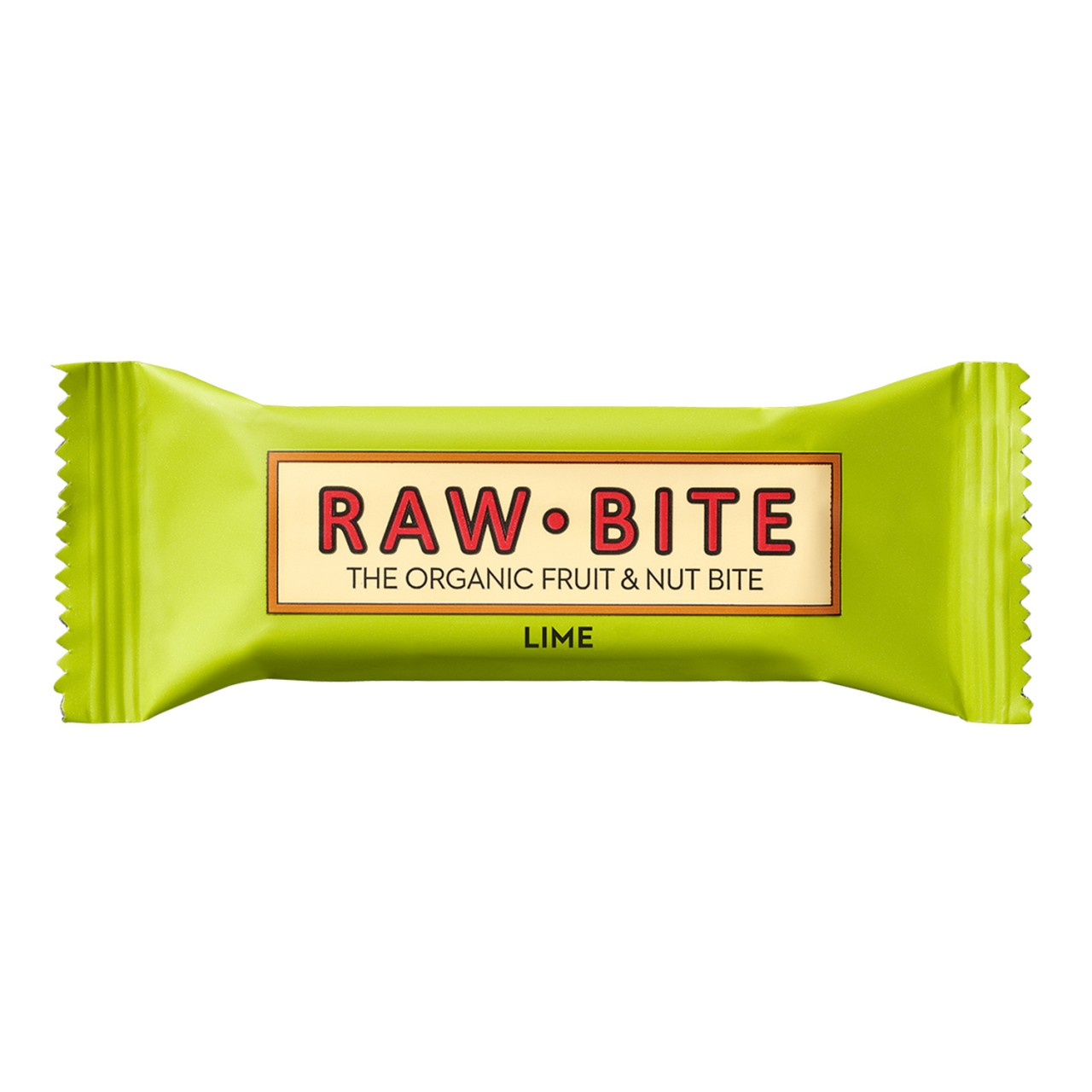 RAW BITE Bio LIME Riegel, 50g von RAWBITE