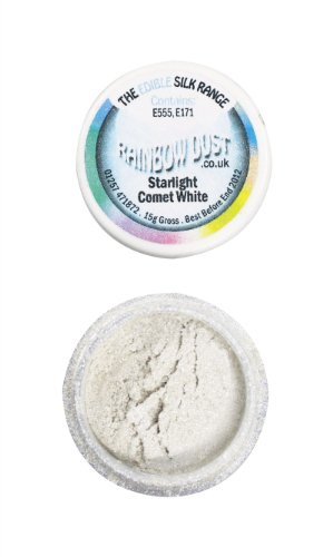 Rainbow Dust - Metallic Puder -Starlight Comet White 3 g von Rainbow Dust