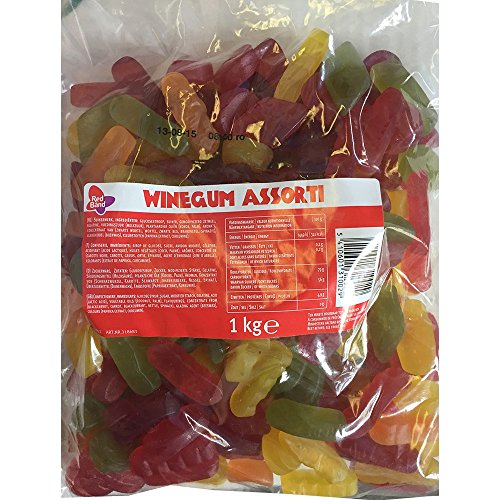 Red Band Fruchtgummi/Weingummi Assorti (1 Beutel a 1kg) von Red Band