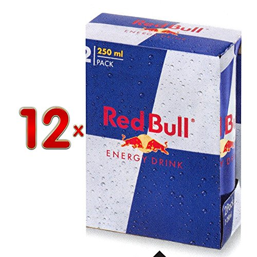 Red Bull 12 x 2-Pack á 250 ml Dose (Energy Drink) von Red Bull