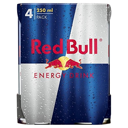 Red Bull Energy Drink (4x250ml) - Packung mit 6 von Red Bull