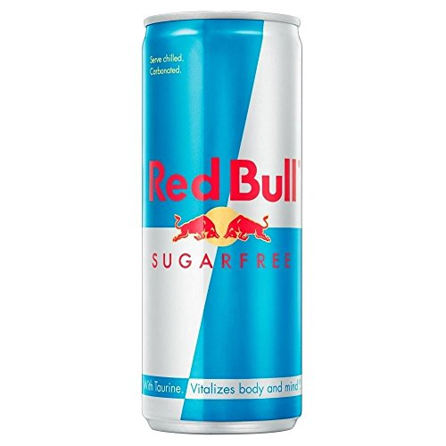 Red Bull Energy Drink Sugar Free (250 ml) - Packung mit 6 von Red Bull