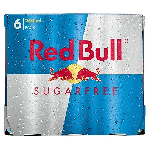 Red Bull Energy Drink Sugar Free (6x250ml) - Packung mit 2 von Red Bull