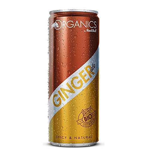 Red Bull Organics Ginger Ale 24x0,25l von Red Bull