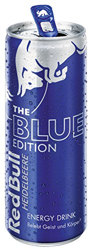 Red Bull The Blue Edition, Energy Drink Heidelbeere, Dose - 250ml - 2x von Red Bull