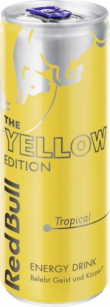 Red Bull Yellow Edition Tropical (Einweg) von Red Bull