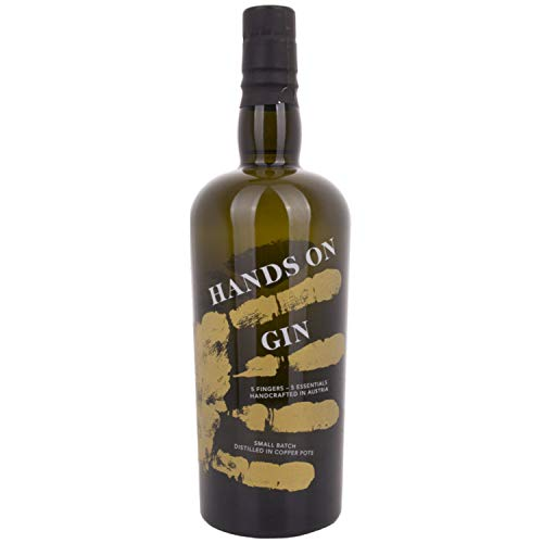 Hands on Gin Small Batch 46,50% 70 cl. von Regionale Edeldistillen