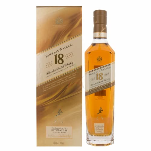 Johnnie Walker The Pursuit of the ULTIMATE 18 Years Old Blend 40,00% 0,70 Liter von Regionale Edeldistillen