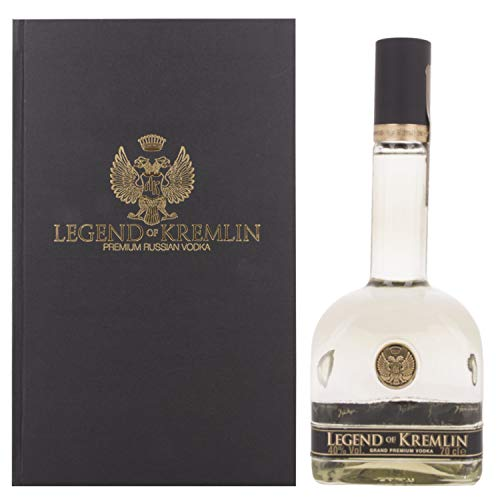 Legend of Kremlin Premium Russian Vodka + GB 40,00 % 0.7 l. von Regionale Edeldistillen