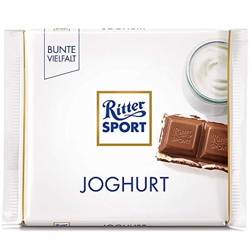 Ritter Sport Joghurt (3 Bars each 100g) - fresh from Germany by Ritter Sport von Ritter Sport