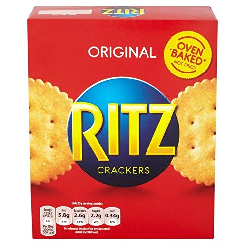 Ritz originale Cracker - 200g x 2 Doppelpack von Ritz