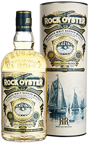 Rock Oyster Douglas Laing Small Batch Release mit Geschenkverpackung  Whisky (1 x 0.7 l) von Douglas Laing & Co.