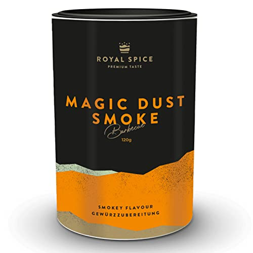 Magic Dust Smoke, Magic Dust mit geräuchertem Paprika und Rauch, 120g Dose von Royal Spice von Royal Spice