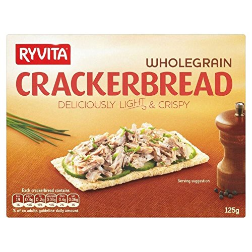 Ryvita Wholegrain Crackerbread 125G von Ryvita
