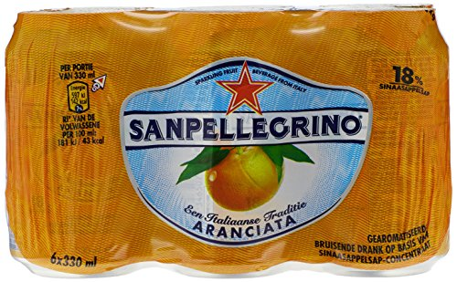 San Pellegrino Orange 33cl (pack de 6) von San Pellegrino
