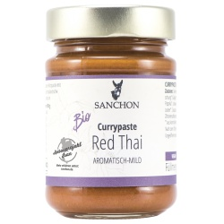 Currypaste Red Thai von Sanchon