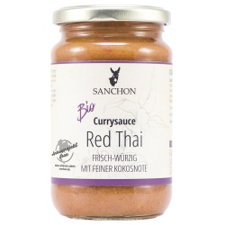 Currysauce Red Thai von Sanchon