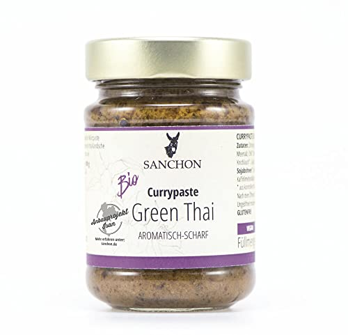Sanchon Bio Green Thai Curry Paste (6 x 190 gr) von Sanchon