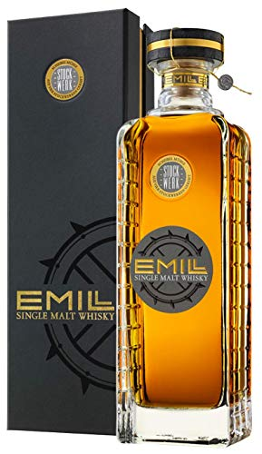 Emill Stockwerk, German Single Malt Whisky, 0,7l. in hochwertiger Box von Scheibel