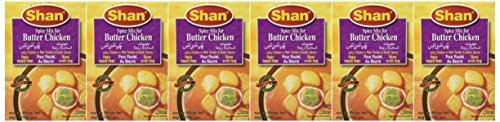 Shan Butter Chicken Mix - 50 Gms X 6 Pcs by Shan von Shan