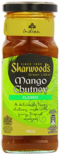 Sharwood's Green Label Mango Chutney Classic 360g von Sharwood's