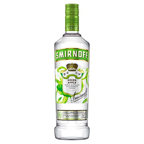 Smirnoff No. 21 Premium Vodka Flavour Green Apple (1 x 0.7 l) von Smirnoff