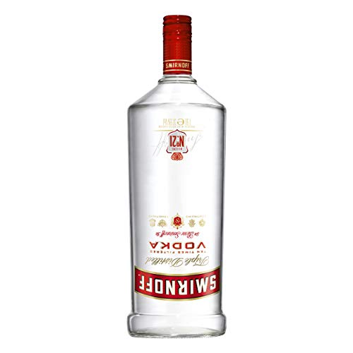 Smirnoff Red No. 21 Premium Vodka Triple Destilled, Relaunch 2019, 6er, Wodka, Alkohol, Alkoholgetränk, Flasche, 37.5%, 1.5 L, 749957 von Smirnoff