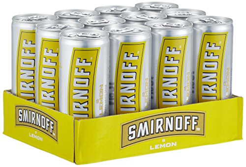 Smirnoff Red No. 21 Premium Vodka & Lemon, EINWEG (12 x 0.25 l) von Smirnoff