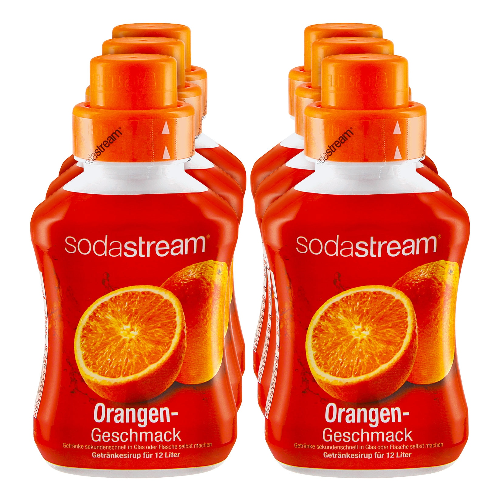 Sodastream Sirup Orange 0,5 Liter, 6er Pack von Sodastream