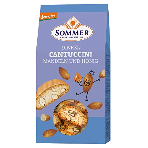 Sommer & Co. Dinkel-Cantuccini (150 g) - Bio von SOMMER CABLE