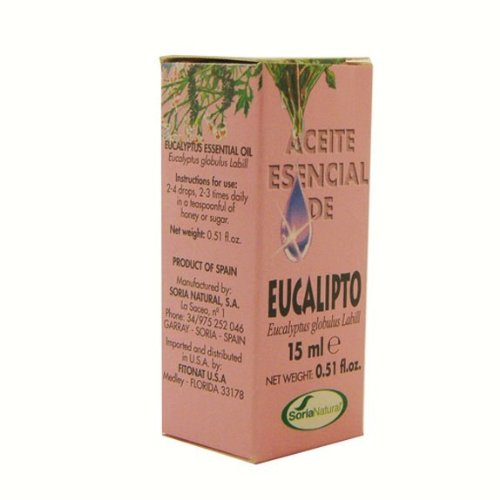EUCALYPTUS ESSENCE 15 ML SORIA. von Soria Natural