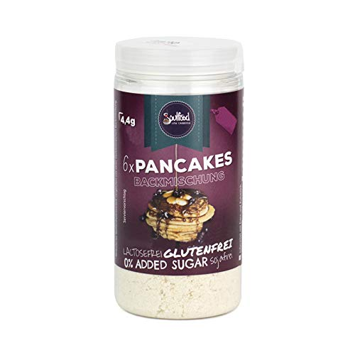 Pancake Backmischung von Soulfood LowCarberia 75g - 6 Pancakes von Soulfood LowCarberia