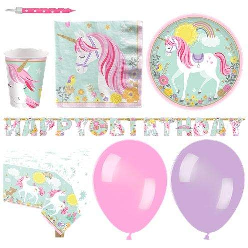 Magical Unicorn Party Pack - Deluxe Pack for 16 von Stef Chef Party