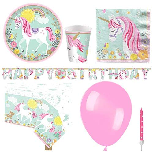Magical Unicorn Party Pack - Deluxe Pack for 8 von Stef Chef Party