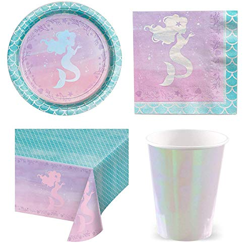 Mermaid Shine Party Pack - Pack for 8 von Stef Chef Party