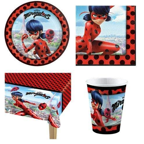 Miraculous Ladybug Party Pack - 8 Guest Pack von Stef Chef Party