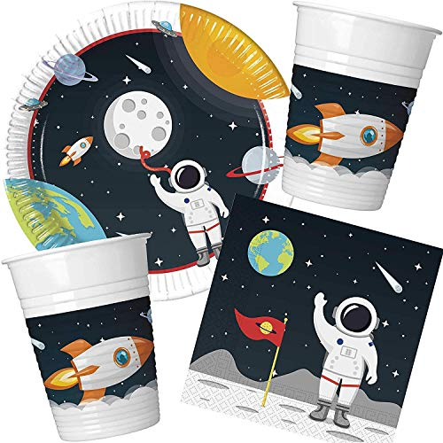 Space Theme Party Bundle Kids Party Astronaut Outer Space for 8 Guests von Stef Chef Party