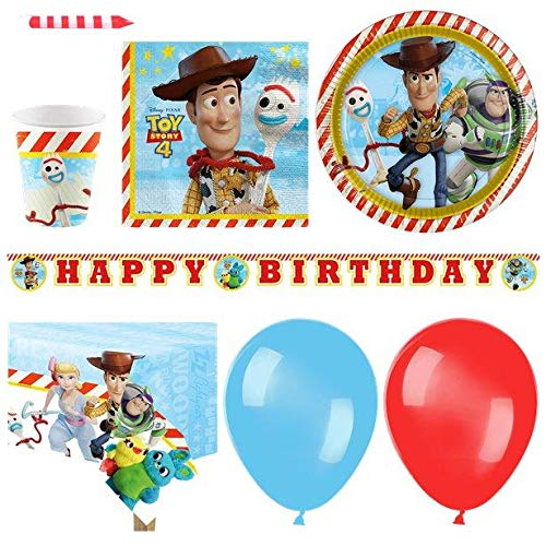 Toy Story 4 - Deluxe Pack for 16 von Stef Chef Party