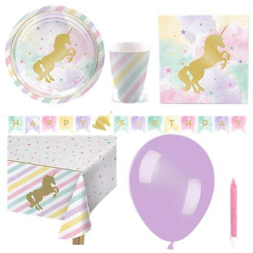 Unicorn Sparkle Party Pack - Deluxe Pack for 8 von Stef Chef Party