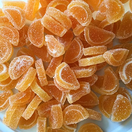 Orange Jelly Slices - 100g - Cake Bling by Stef Chef von Stef Chef