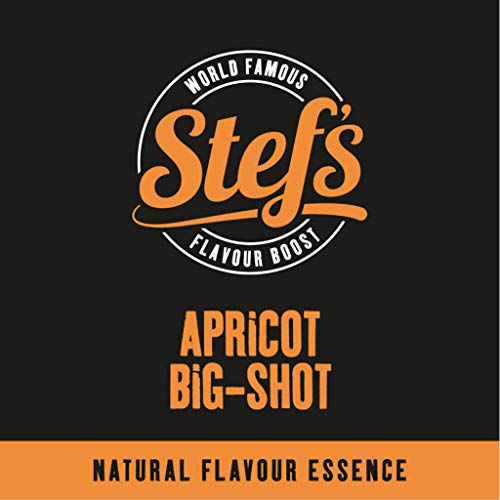 Stef's Apricot Big Shot - Natural Apricot Essence 5L/170fl.oz von Stef Chef