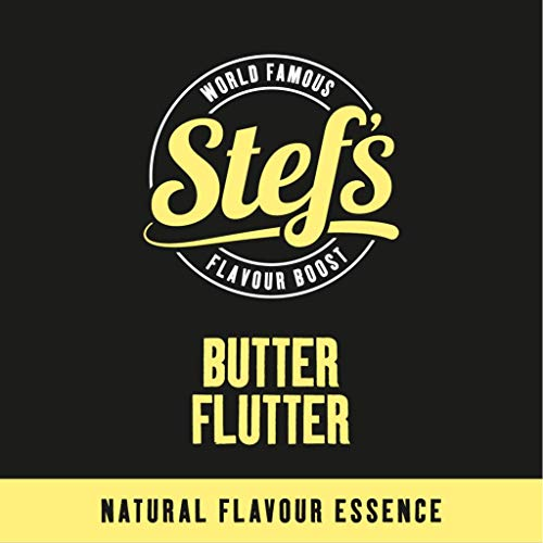 Butter Flutter - Natural Butter Essence 5L von Stef Chef
