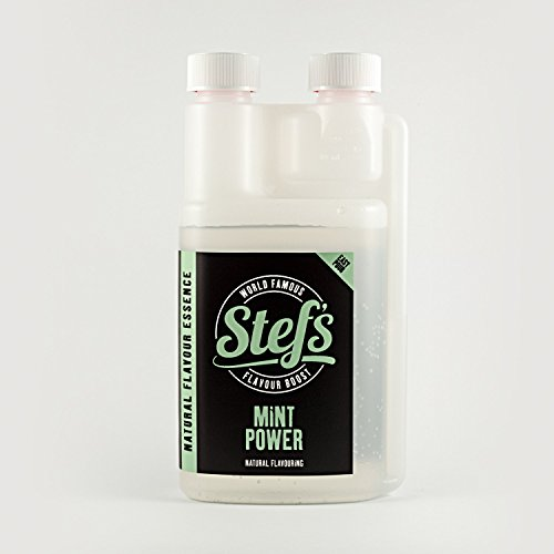 Mint Power - Natural Mint Essence 500ml von Stef Chef