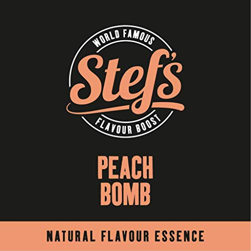Peach Bomb - Natural Peach Essence 1L von Stef Chef